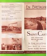 SAINT-CAST - DEPLIANT TOURISTIQUE 5 VOLETS - Dépliants Touristiques