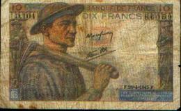 FRANCE - 10 Francs -  26.04.1945 - 1871-1952 Anciens Francs Circulés Au XXème