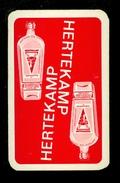 Speelkaart ( 0210 ) 1 Losse Kaart - Publicité Reclame  Wijn Likeur Liqueur Distillerie Stokerij - HERTEKAMP  Schiedam - Barajas De Naipe