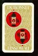 Speelkaart ( 0217 ) 1 Losse Kaart - Publicité Reclame  Wijn Likeur Liqueur Distillerie Stokerij -  DUBONNET - Barajas De Naipe