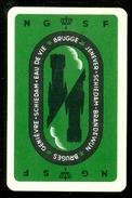 Speelkaart ( 0218 ) 1 Losse Kaart - Publicité Reclame  Wijn Likeur Liqueur Distillerie Stokerij -  BRUGES   BRUGGE - Barajas De Naipe