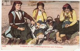 Crnogorke Pri Uzini Montenegro Old Unused Postcard (Depose J. Tosovic, Ragusa) B170125 - Europe