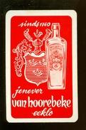 Speelkaart ( 0227 ) 1 Losse Kaart - Publicité Reclame  Wijn Likeur Liqueur Distillerie Stokerij - Eeklo  Eecloo - Barajas De Naipe