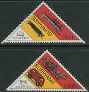 Suriname 1994. Michel #1495/96 MNH/Luxe. America: Postal Transport. (Ts43)