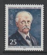 TIMBRE NEUF DE BERLIN - 150EME ANNIV. NAISSANCE PHYSICIEN ET PHYSIOLOGISTE HERMANN VON HELMHOLTZ N° Y&T 369