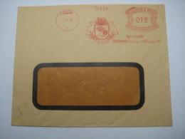 Firmen Freistempel , Meterstempel Auf Beleg Aus   1932 , Freital - Deutschland