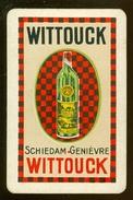 Speelkaart ( 0237 ) 1 Losse Kaart - Publicité Reclame  Wijn Likeur Liqueur Distillerie Stokerij -  WITTOUCK - Barajas De Naipe