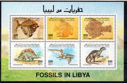 LYBIA 1996 Fossils And Dinosaurs // Fossiles Et Dinosaures LYBIE1996