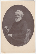 Iw. S. Turgenjew Old Unused Postcard B170125 - Ecrivains