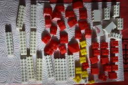 Lot Ancien Jeu De Construction Polybrick Et Bric Plastique 94 Pieces - Andere Sammlungen