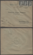 ALSACE /1942  AMBULANT ROUTIER SUR LETTRE (ref LE988) - Elsass-Lothringen