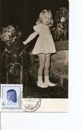 Luxembourg - Princesse Marie-Astrid ( CM De 1957 à Voir) - Maximum Cards