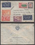 SIBU - SARAWAK / 1959 LETTRE AVION POUR PORT MORESBY - PAPOUASIE (ref LE989) - Sarawak (...-1963)