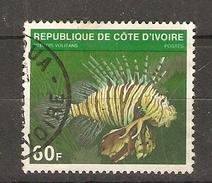 Côte D'Ivoire 1979 - Rascasse Volante - Pterois Volitans - YT 510A ° - Côte D'Ivoire (1960-...)