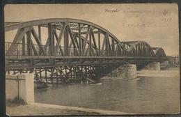 SLOVAQUIA - KK FELKTKANONE R. N 8 - Militar Deutch Vignette - SAGRADO Bridge - C/1915´s - Ed. Maria Furlan, Sagrado - Slovaquie