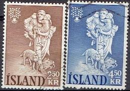 ICELAND #  FROM 1960 STAMPWORLD 341-42 - 1944-... Republik