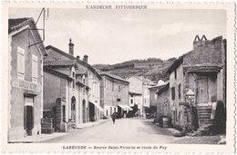 07. LABEGUDE. Source Saint-Victorin Et Route Du Puy - France