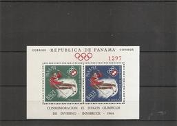 JO D'hiver De Innsbruck -1964( BF 14 XXX -MNH- De Panama) - Inverno1964: Innsbruck