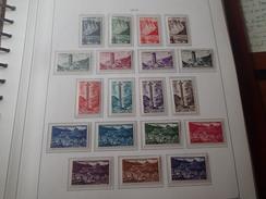 Andorre N°138 A 153** TTB Cote 250€.