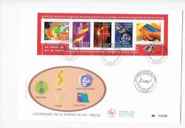 Enveloppes  1er Jour FDC .2001  1 Enveloppe Les Progès De La Science - FDC