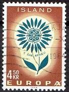 ICELAND #  FROM 1964 STAMPWORLD 386 - 1944-... Republik