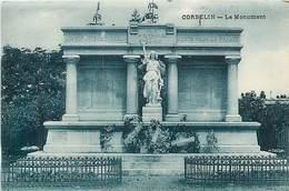 A-17-2154 : MONUMENT AUX MORTS DE LA GRANDE-GUERRE 1914-1918.  CORBELIN - Corbelin
