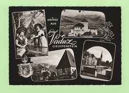 LIECHTENSTEIN - GRUSSE AUS  VADUZ TIMBRES N° 343 X 3 - Liechtenstein