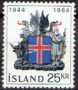 ICELAND #  FROM 1964 STAMPWORLD 381 - 1944-... Republik