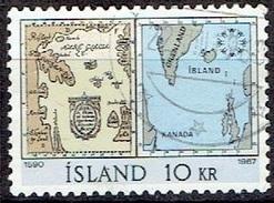 ICELAND #  FROM 1967 STAMPWORLD 412 - 1944-... Republik