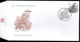 2000 - Fdc - Obp 2885 - Vogels Buzin Grauwe Klavier - Cote Euro 5,50 - FDC
