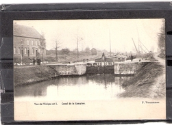 Lommel Vue De L'écluse N° 1    Canal De La Campine - Lommel