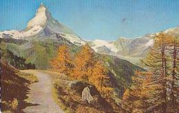 Suisse         559         Matterhorn Von Der Riffelalp Aus - VS Wallis