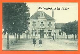 """CPA Cellettes """" La Mairie Et Les écoles """" LJCP 27 - Otros Municipios"""