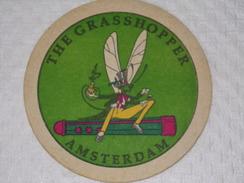 Sous-bocks Bière - Bear - Beer - Pills      ////   THE GRASSHOPPER - AMSTERDAM - Sous-bocks