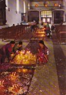 Guatemala Chichicastenango Interior Of St Thomas Church - Guatemala