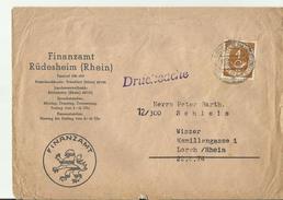 BDR CV 1953 - Storia Postale