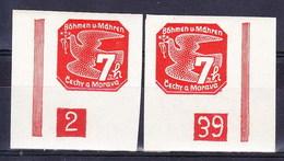 Boheme Et Moravie 1939 Mi 44 (Yv TPJ 3), (MNH) ** - Bohemia & Moravia