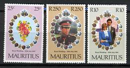 1981 - MAURITIUS - Catg.. Mi. 516/518 - NH - (I-SRA3207.8) - Mauritius (1968-...)