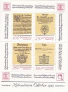 Denmark, AFA : DK 827, Stamp Exhibition Hafnia '87, Block.