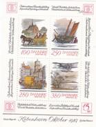 Denmark, AFA : DK 852, Stamp Exhibition Hafnia '87, Block II.