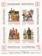 Denmark, AFA : DK 869, Stamp Exhibition Hafnia '87, Block III.