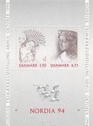 "Denmark, AFA : DK 1011-12, ""Nordia '94"", Århus. - Blocks & Kleinbögen"