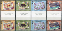 BIOT 1990. Michel #90/93 MNH/Luxe. International Stamp Exhibition STAMPWORLD LONDON '90 (Ts43)