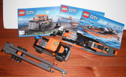 Lego City 60085 - Le 4x4 Avec Hors-Bord - Lego