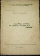 ROMANIA ,VET/VETERINARY  LESSONS-1970/1973 PERIOD - Praktisch