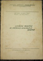 ROMANIA ,VET/VETERINARY  LESSONS-1970/1973 PERIOD - Livres, BD, Revues