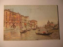 VENEZIA - CANAL GRANDE E CHIESA DELLA SALUTE - Venezia