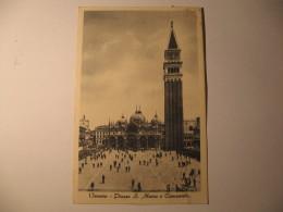 VENEZIA -  PIAZZA SAN MARCO E CAMPANILE - Venezia