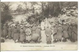 54è Régiment D' Infanterie Territoriale - Campagne 1914-1915 - Guerre 1914-18