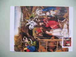 Carte Maximum Le Maître De Flémalle  La Nativité - Arts